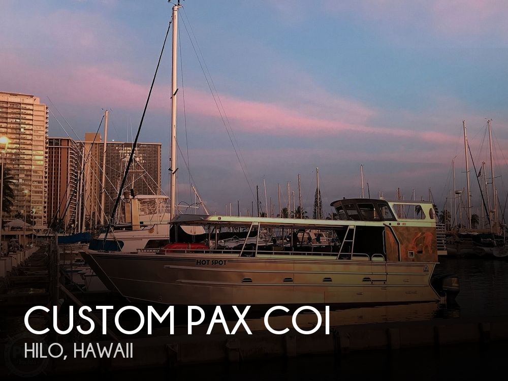 Used Custom Boats For Sale by owner | 2016 39 foot Custom Pax Coi