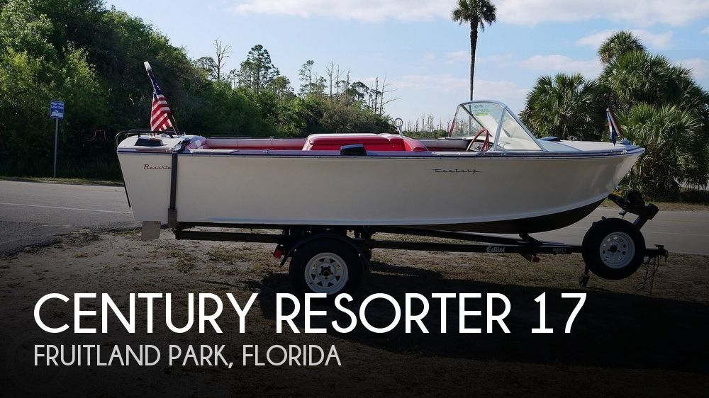 1968 Century boat for sale, model of the boat is Resorter 17 & Image # 1 of 40