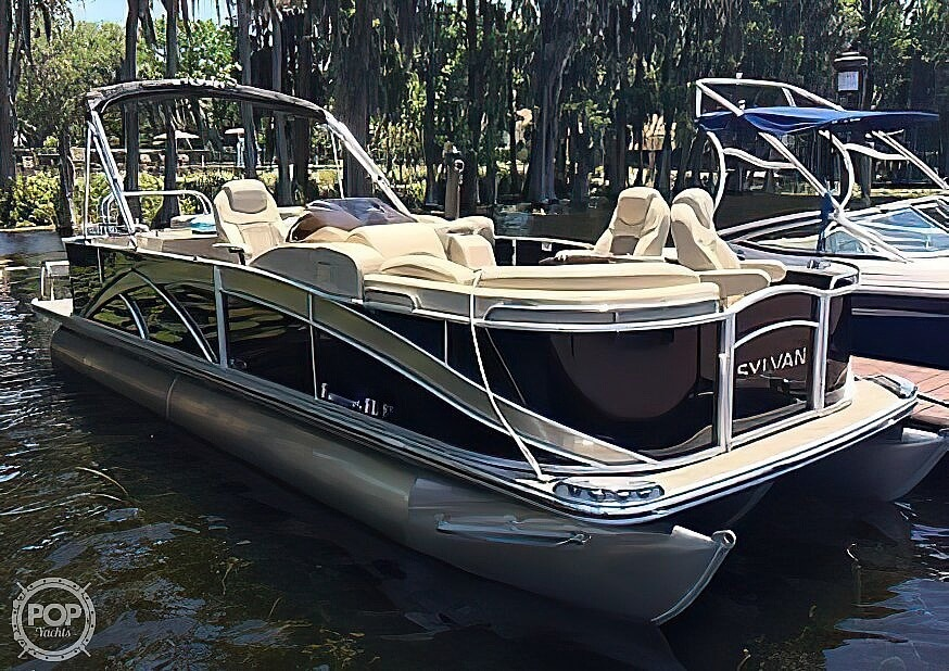 2016 Sylvan boat for sale, model of the boat is Mandalay 8523 Sportlounger & Image # 4 of 40