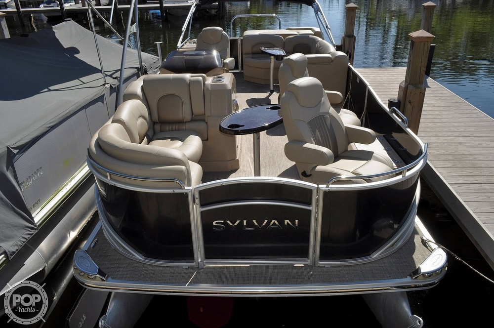 2016 Sylvan boat for sale, model of the boat is Mandalay 8523 Sportlounger & Image # 5 of 40
