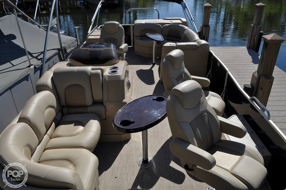 2016 Sylvan boat for sale, model of the boat is Mandalay 8523 Sportlounger & Image # 10 of 40