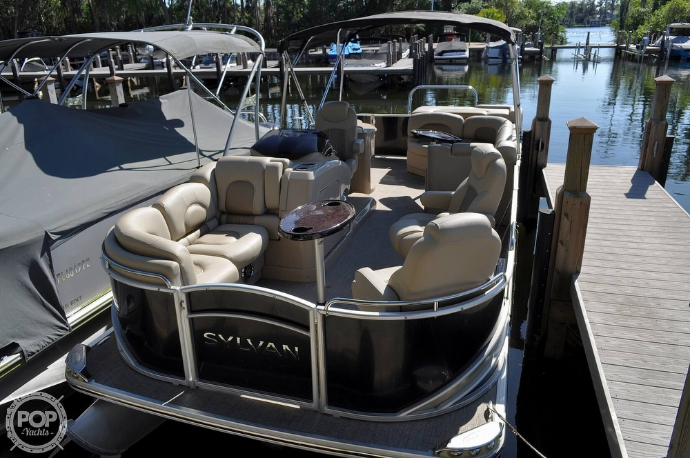 2016 Sylvan boat for sale, model of the boat is Mandalay 8523 Sportlounger & Image # 39 of 40