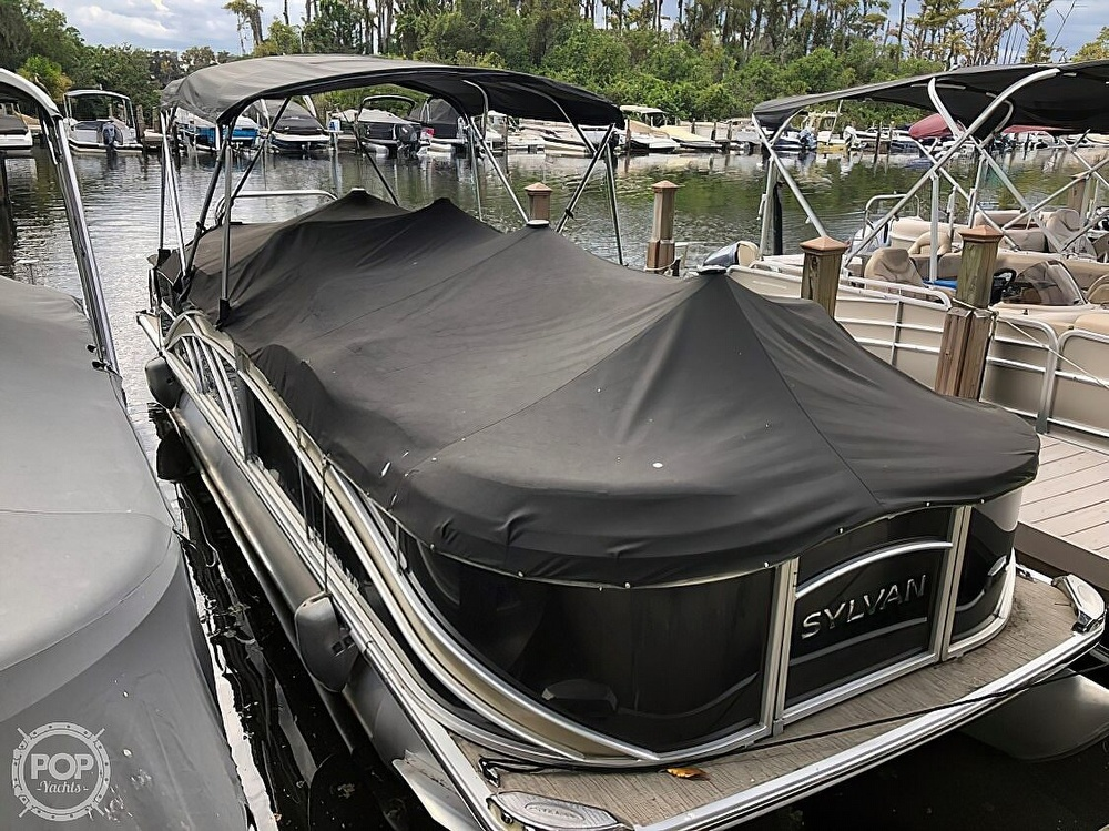 2016 Sylvan boat for sale, model of the boat is Mandalay 8523 Sportlounger & Image # 2 of 40