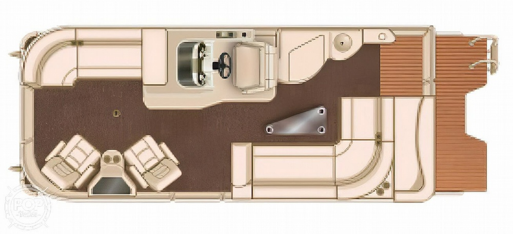 2016 Sylvan boat for sale, model of the boat is Mandalay 8523 Sportlounger & Image # 7 of 40