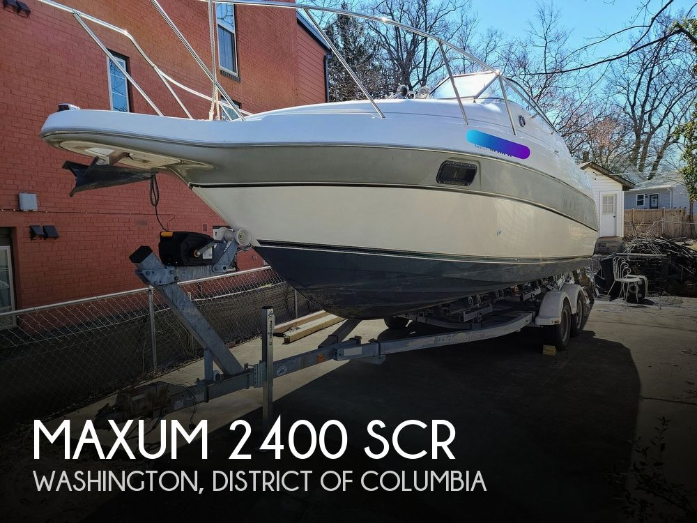 1994 Maxum boat for sale, model of the boat is 2400 SCR & Image # 1 of 40
