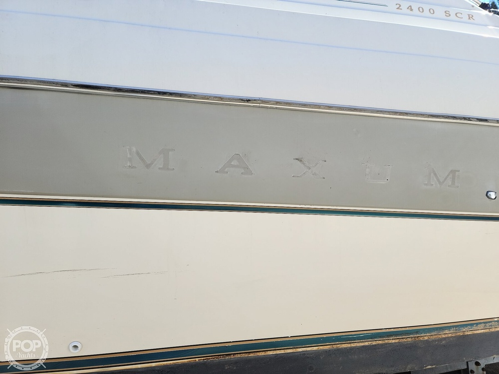 1994 Maxum boat for sale, model of the boat is 2400 SCR & Image # 6 of 40