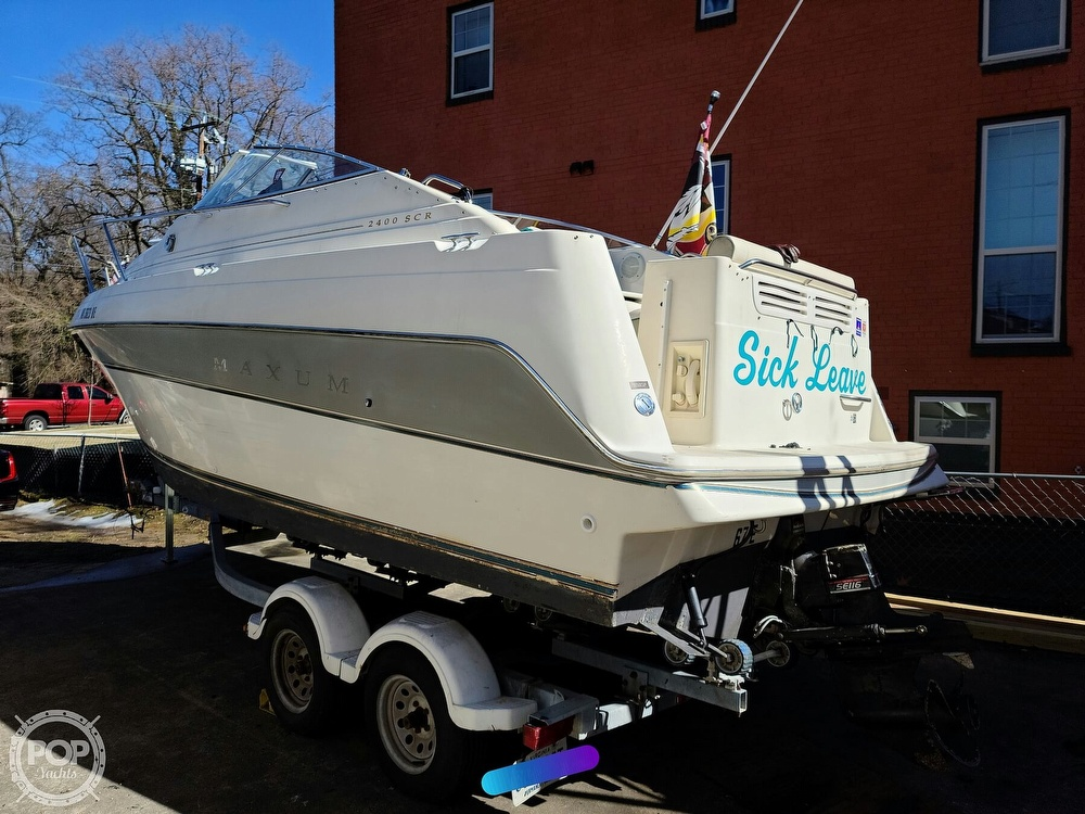 1994 Maxum boat for sale, model of the boat is 2400 SCR & Image # 9 of 40