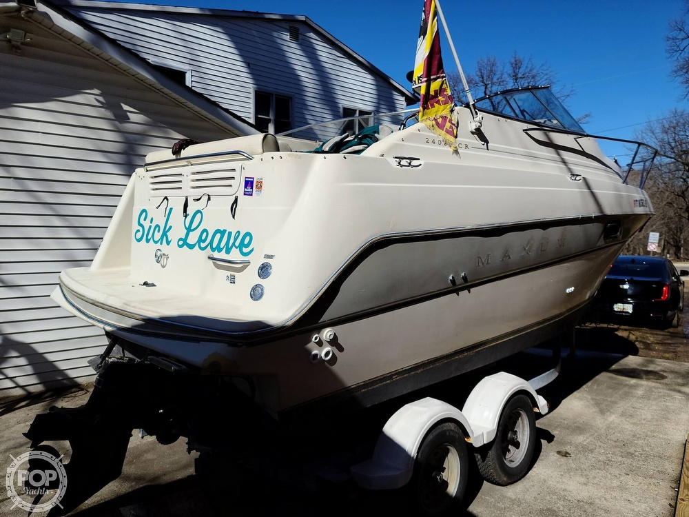 1994 Maxum boat for sale, model of the boat is 2400 SCR & Image # 13 of 40