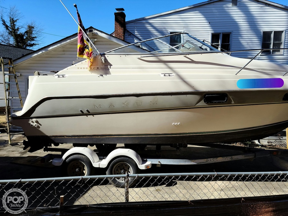 1994 Maxum boat for sale, model of the boat is 2400 SCR & Image # 15 of 40