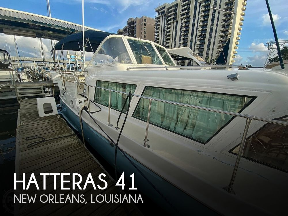 Used HATTERAS Motoryachts For Sale by owner   1963 Hatteras 41