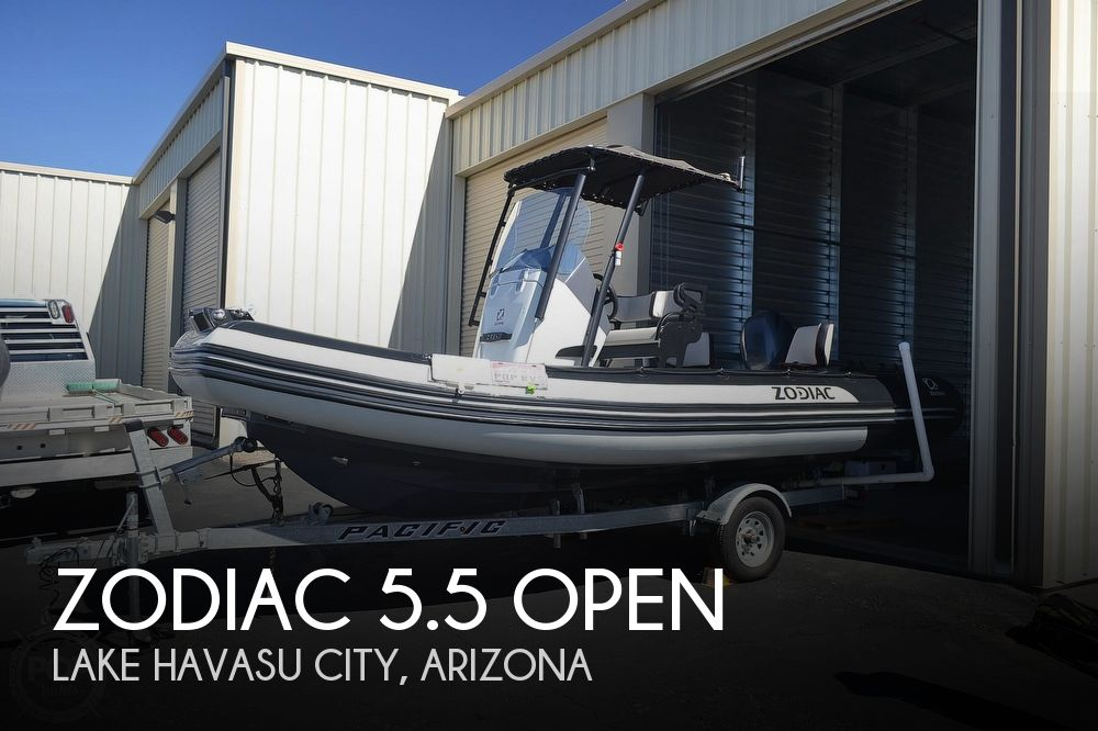 2019 Zodiac boat for sale, model of the boat is 5.5 Open & Image # 1 of 40