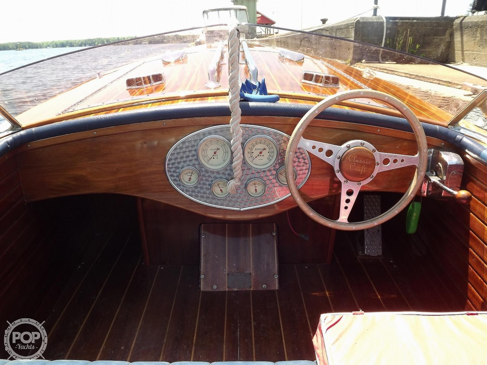1990 Classic Craft boat for sale, model of the boat is Gentlemans Racer & Image # 9 of 40