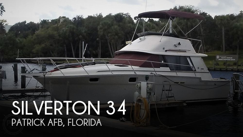 1983 Silverton boat for sale, model of the boat is 34 Convertible & Image # 1 of 40