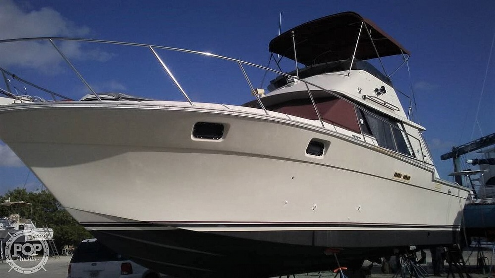 1983 Silverton boat for sale, model of the boat is 34 Convertible & Image # 2 of 40
