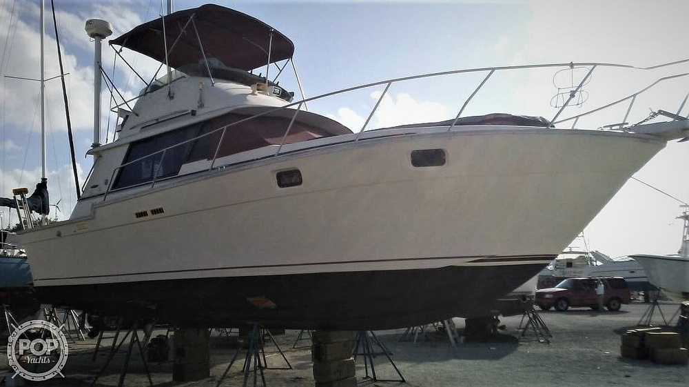1983 Silverton boat for sale, model of the boat is 34 Convertible & Image # 3 of 40