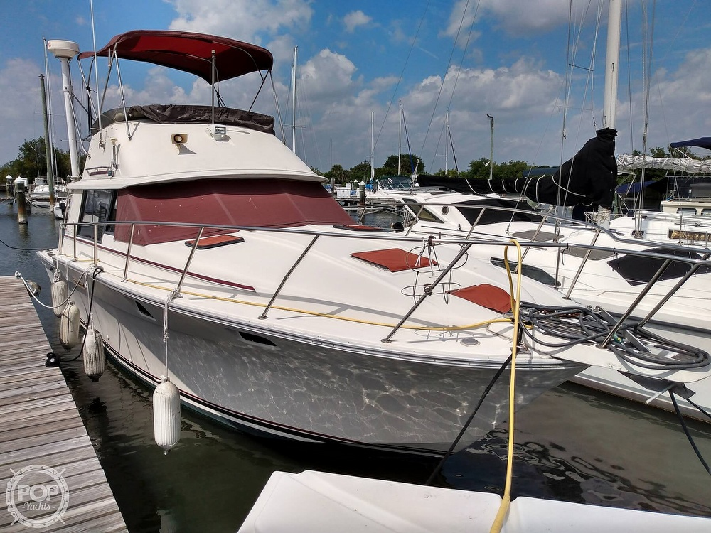 1983 Silverton boat for sale, model of the boat is 34 Convertible & Image # 10 of 40