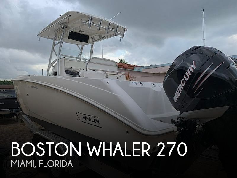 Used Boston Whaler Boats For Sale by owner | 2007 Boston Whaler Outrage 270