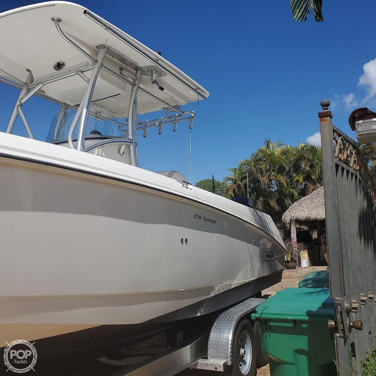 2007 Boston Whaler boat for sale, model of the boat is 270 Outrage & Image # 6 of 40