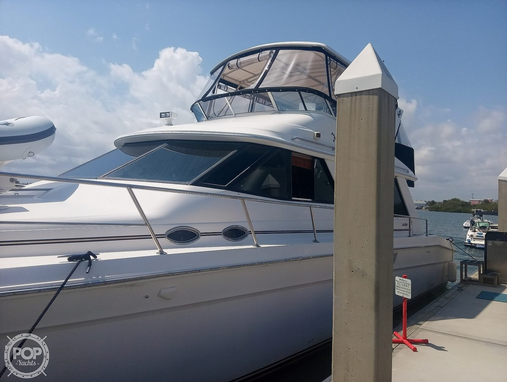 1996 Sea Ray boat for sale, model of the boat is 550 Sedan Bridge & Image # 10 of 40