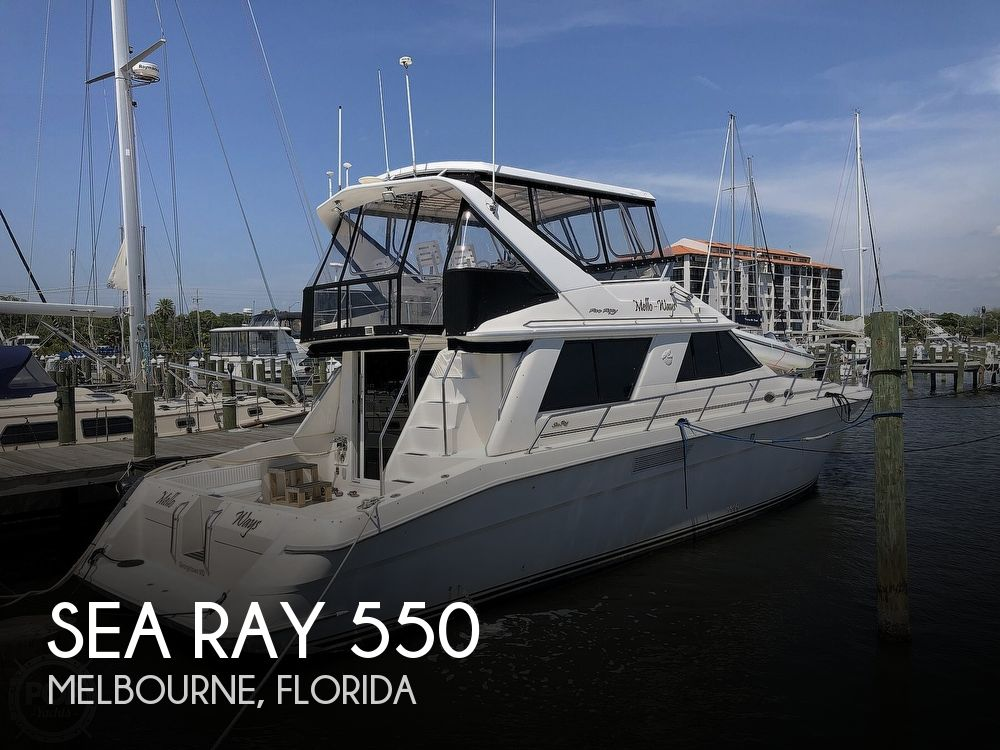 1996 Sea Ray 550 Sedan Bridge