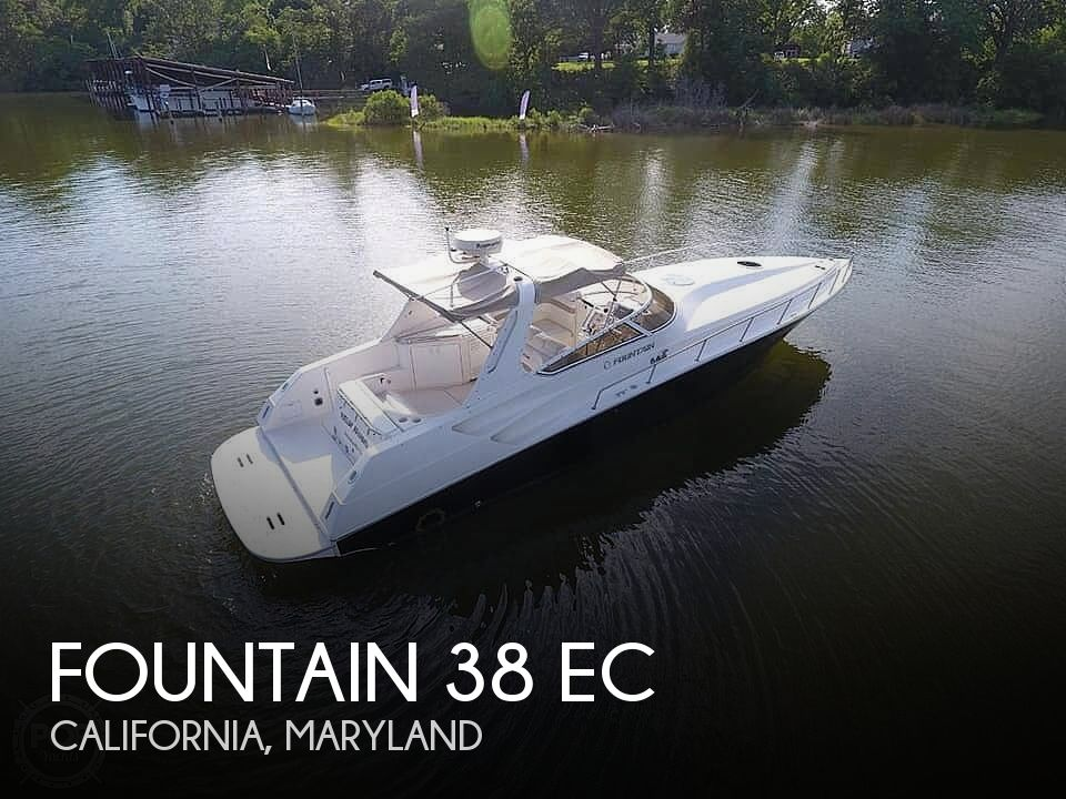 Used Fountain Boats For Sale by owner | 2005 Fountain 38