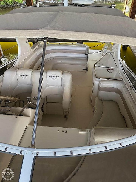 2005 Fountain boat for sale, model of the boat is 38 EC & Image # 6 of 40