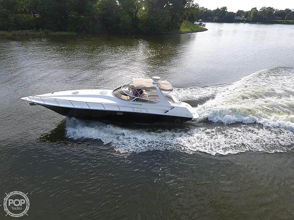 2005 Fountain boat for sale, model of the boat is 38 EC & Image # 7 of 40