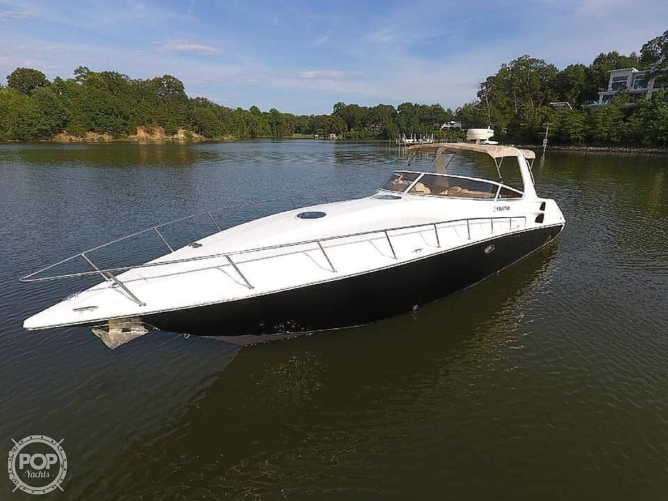 2005 Fountain boat for sale, model of the boat is 38 EC & Image # 10 of 40