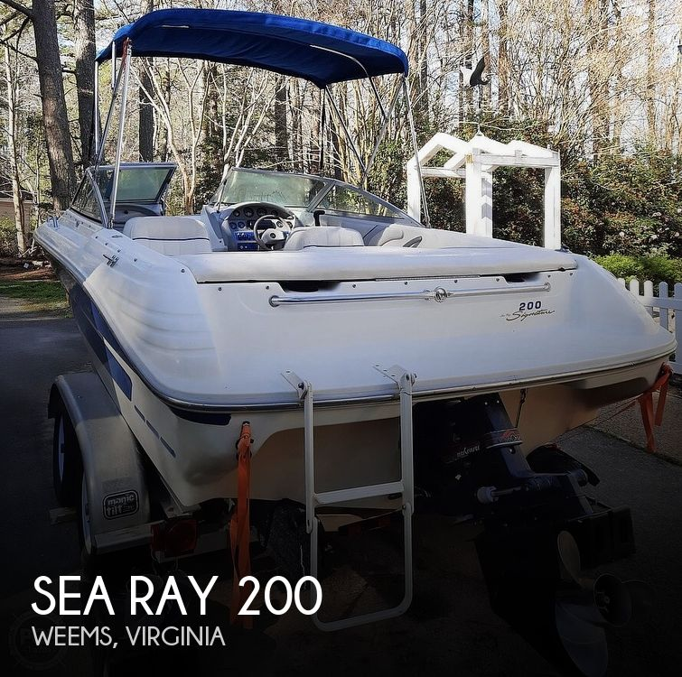 1994 SEA RAY 200 SIGNATURE for sale