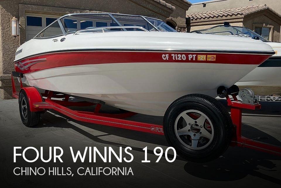 Used Four Winns Boats For Sale in California by owner | 2001 Four Winns Horizon 190
