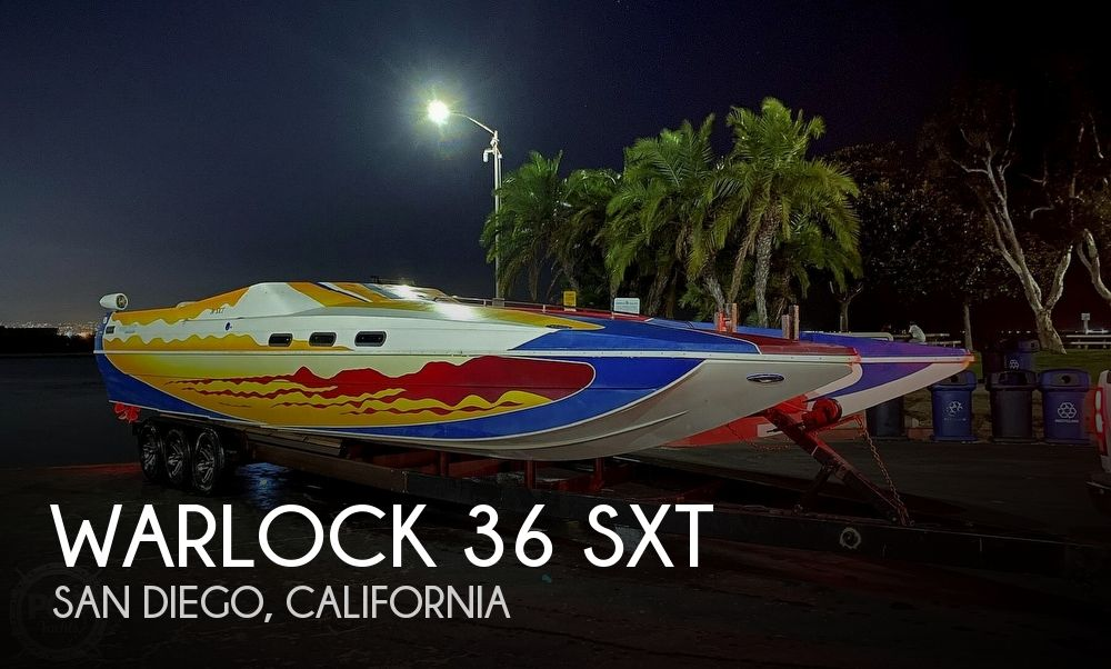Used Boats For Sale in San Diego, California by owner | 2004 Warlock 36 SXT