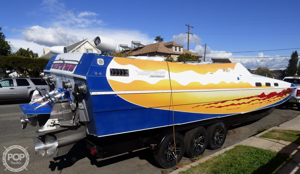 2004 Warlock boat for sale, model of the boat is 36 SXT & Image # 4 of 40