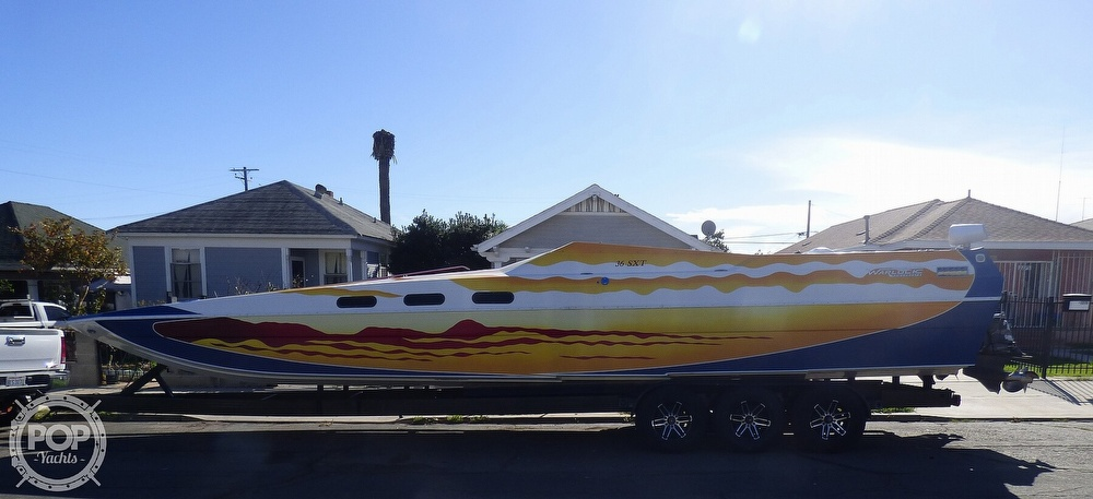 2004 Warlock boat for sale, model of the boat is 36 SXT & Image # 18 of 40