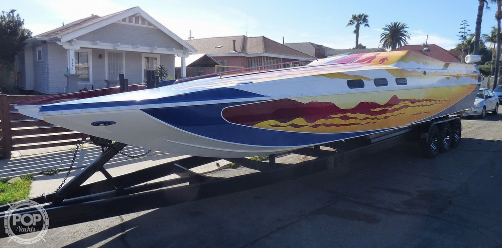 2004 Warlock boat for sale, model of the boat is 36 SXT & Image # 2 of 40