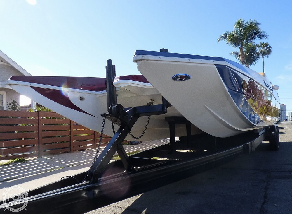 2004 Warlock boat for sale, model of the boat is 36 SXT & Image # 12 of 40