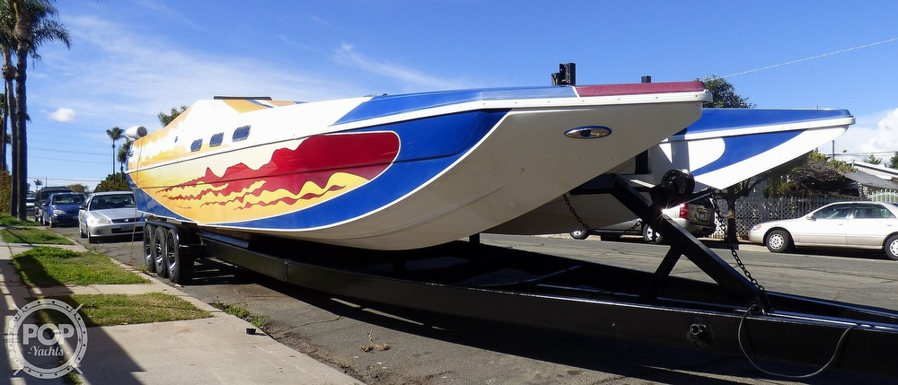 2004 Warlock boat for sale, model of the boat is 36 SXT & Image # 6 of 40