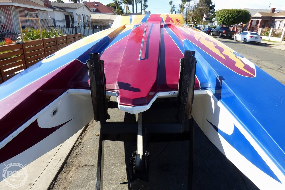 2004 Warlock boat for sale, model of the boat is 36 SXT & Image # 19 of 40