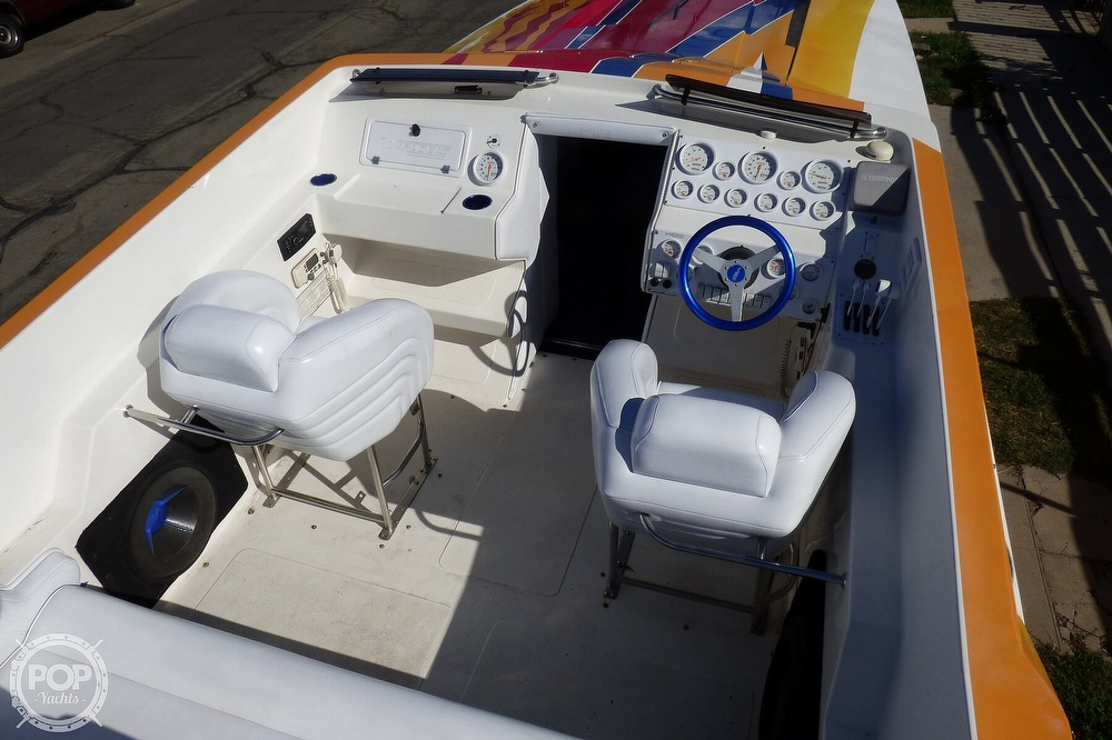 2004 Warlock boat for sale, model of the boat is 36 SXT & Image # 8 of 40