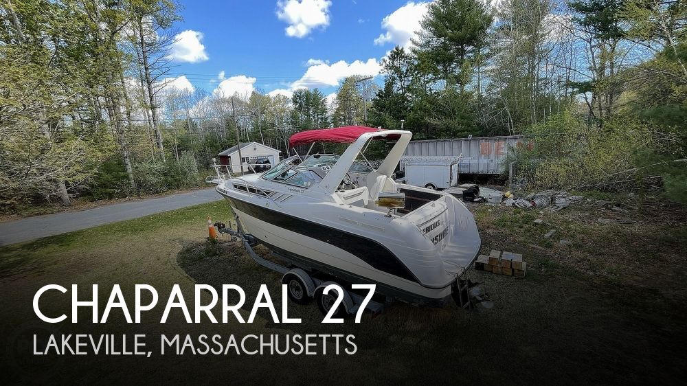 1997 Chaparral boat for sale, model of the boat is 27 signature & Image # 1 of 40