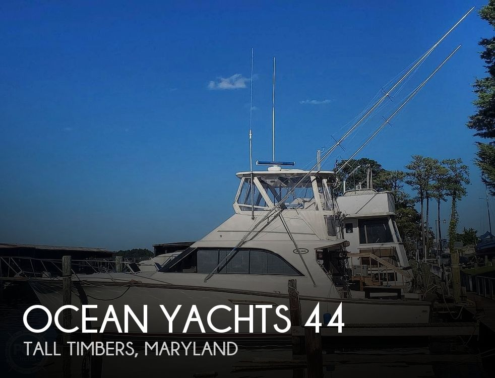 Used Motoryachts For Sale in Maryland by owner | 1989 Ocean Yachts 44 Super Sport