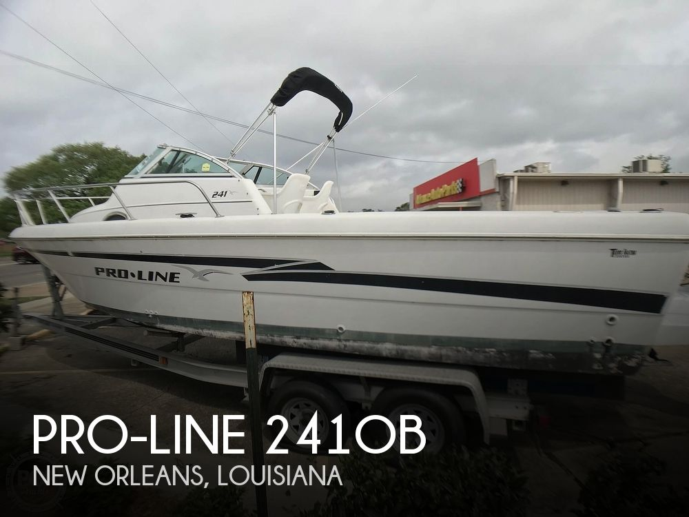 1999 Pro-Line boat for sale, model of the boat is 241OB & Image # 1 of 40