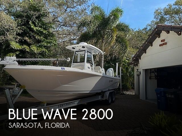 Used Boats For Sale in Tampa, Florida by owner | 2021 Blue Wave 2800 Makaira