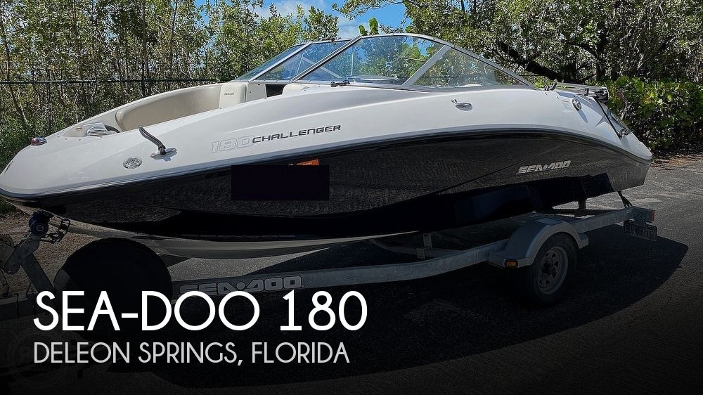 2011 Sea Doo PWC boat for sale, model of the boat is 180 Challenger S & Image # 1 of 40