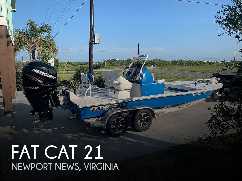 Used Boats For Sale in Richmond, Virginia by owner | 2020 Fat Cat Manta Ray CB 21