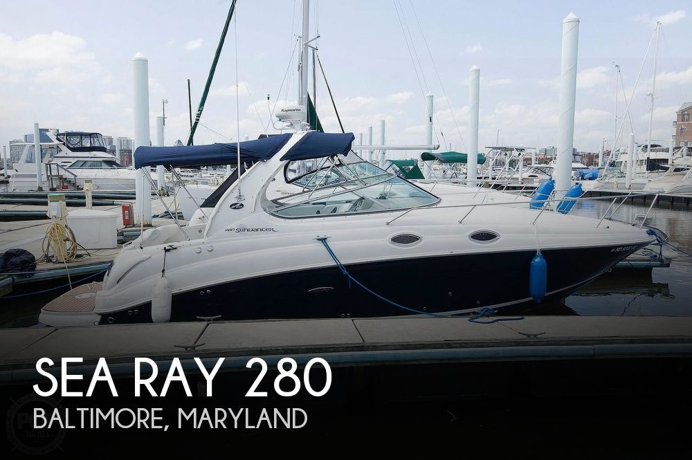 Used Sea Ray Boats For Sale in Maryland by owner | 2005 Sea Ray 28