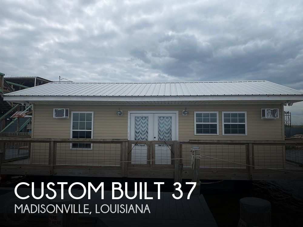 Used Houseboats For Sale in Louisiana by owner   2017 Custom Built 37