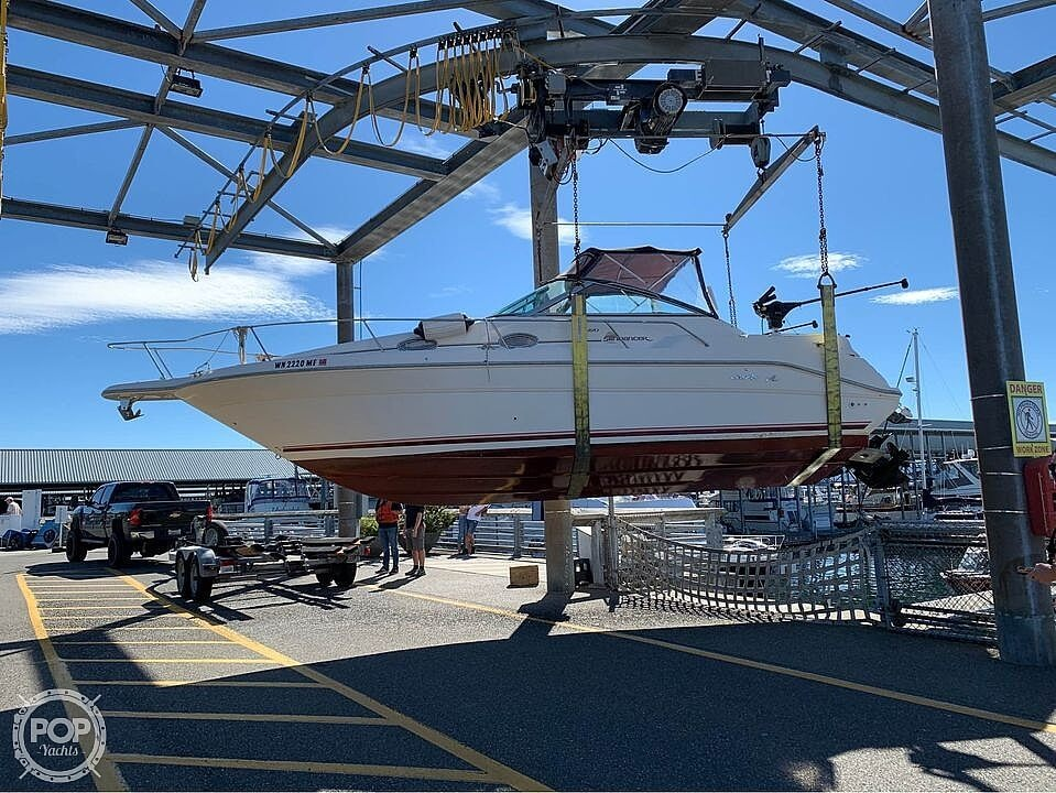 1994 Sea Ray boat for sale, model of the boat is sundancer 270 & Image # 5 of 12