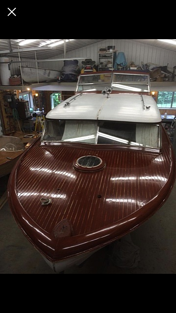 1956 Chris Craft boat for sale, model of the boat is Constellation 34 & Image # 2 of 14
