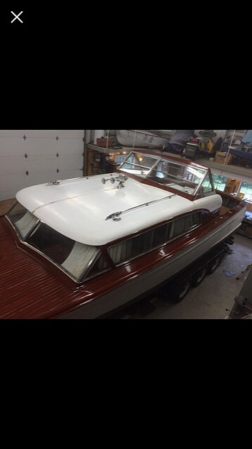 1956 Chris Craft boat for sale, model of the boat is Constellation 34 & Image # 3 of 14