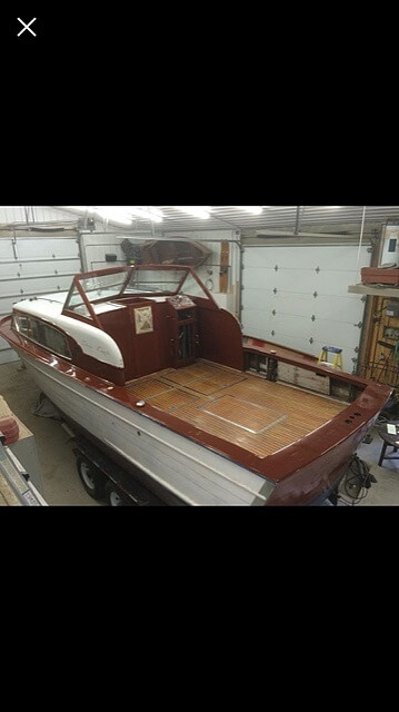 1956 Chris Craft boat for sale, model of the boat is Constellation 34 & Image # 4 of 14